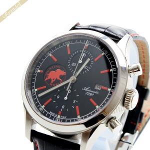 ハンティングワールド HUNTING WORLD メンズ腕時計 エステティカ クロノグラフ 44mm 自動巻き ブラック×レッド HW017BKBK [在庫品]|brandol