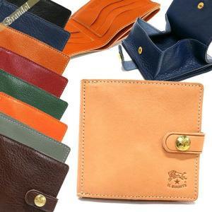 イルビゾンテ IL BISONTE メンズ 二つ折り財布 レザー 各色 C0508 [在庫品]|brandol