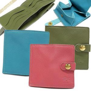 イルビゾンテ IL BISONTE メンズ・レディース 二つ折り財布 レザー 各色 C0508EP [在庫品]|brandol