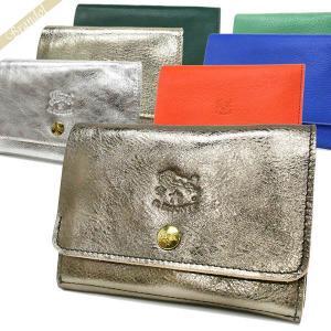 イルビゾンテ IL BISONTE メンズ・レディース 二つ折り財布 本革 レザー カードポケット付 各色 C0522PE [在庫品]|brandol