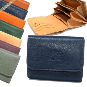 イルビゾンテ IL BISONTE メンズ 二つ折り財布 レザー 各色 C0594M [在庫品]|brandol