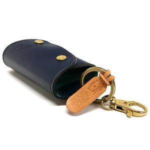イルビゾンテ IL BISONTE キーケース メンズ 本革 レザー ラップ キーホルダー 各色 C0847 [在庫品]|brandol|04