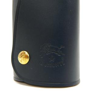 イルビゾンテ IL BISONTE キーケース メンズ 本革 レザー ラップ キーホルダー 各色 C0847 [在庫品]|brandol|06