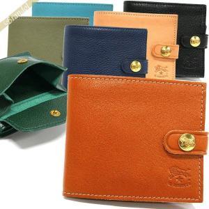 イルビゾンテ IL BISONTE メンズ 二つ折り財布 レザー 各色 C1007 [在庫品]|brandol