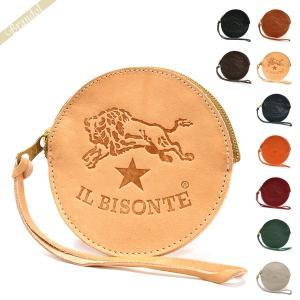 イルビゾンテ IL BISONTE メンズ 小銭入れ 本革 丸型 レザー コインケース 各色 C1012 [在庫品]|brandol