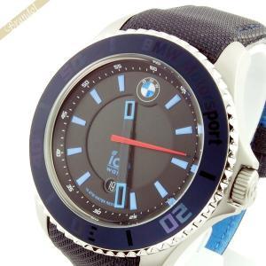 アイスウォッチ ICE WATCH メンズ腕時計 BMW Motorsport Steel BMWコラボモデル 48mm ダーク&ライトブルー BM.BLB.B.L.14 [在庫品] brandol