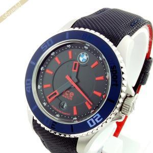 アイスウォッチ ICE WATCH メンズ・レディース腕時計 BMW Motorsport Steel BMWコラボモデル 43mm ダークブルー&レッド BM.BRD.U.L.14 brandol
