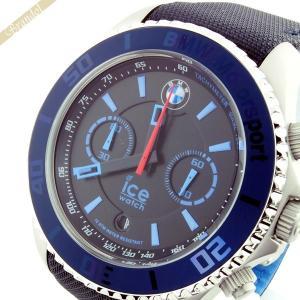 アイスウォッチ ICE WATCH メンズ腕時計 BMW Motorsport Steel BMWコラボモデル 53mm クロノグラフ ダーク&ライトブルー BM.CH.BLB.BB.L.14 brandol