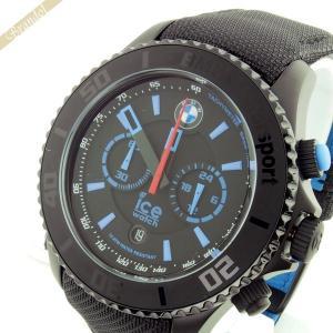 アイスウォッチ ICE WATCH メンズ腕時計 BMW Motorsport Steel BMWコラボモデル 48mm クロノグラフ ブラック BM.CH.KLB.B.L.14 brandol