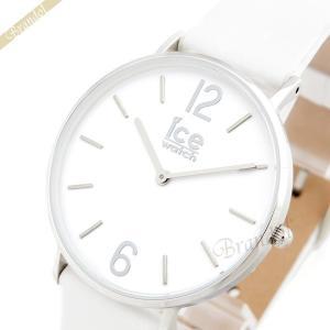 アイスウォッチ ICE WATCH メンズ・レディース 腕時計 アイスシティ タンナー 36mm ホワイト×シルバー CT.WSR.36.L.16 [在庫品] brandol