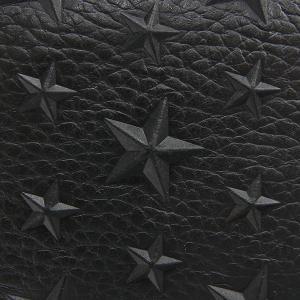 ジミーチュウ JIMMY CHOO メンズ 二つ折り財布 スター エンボス レザー オールブラック ALBANY EMG BLACK [在庫品]|brandol|05