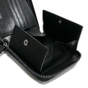 ジミーチュウ JIMMY CHOO メンズ・レディース 二つ折り財布 スター スタッズ レザー ブラック LAWRENCE BLS BLACK/GUNMETAL [在庫品]|brandol|05