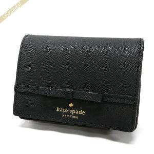 ケイトスペード kate spade 財布 レディース 小銭入れ 定期入れ付 レザー コインケース ブラック PWRU5722 001 [在庫品]|brandol