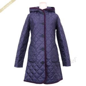 ラベンハム レディース キルティングジャケット BRUNDON Aライン コート フード付 パープル Sサイズ/Mサイズ/Lサイズ [在庫品]|brandol