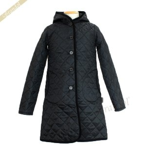 ラベンハム レディース ロングコート ブランドン キルティングジャケット ロング フード付 Sサイズ/Mサイズ/Lサイズ ブラック [在庫品]|brandol