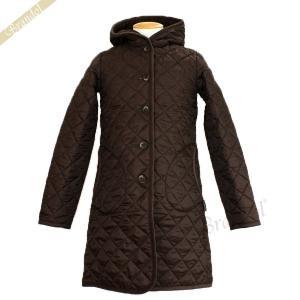 ラベンハム レディース ロングコート ブランドン キルティングジャケット ロング フード付 Sサイズ/Mサイズ/Lサイズ ブラウン [在庫品]|brandol