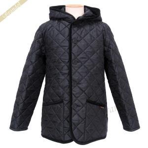 ラベンハム メンズ キルティングジャケット CRAYDON ショート コート フード付 ブラック Sサイズ/Mサイズ/Lサイズ [在庫品] brandol