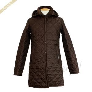 ラベンハム レディース ロングコート ハルステッド キルティングジャケット ロング フード付 Sサイズ/Mサイズ/Lサイズ ブラウン [在庫品]|brandol