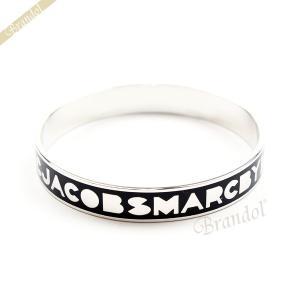 マークバイマークジェイコブス MARC BY MARC JACOBS ブレスレット レディース Logo Bangle ロゴ バングル BLACK ブラック M3PE603 80001 [在庫品]|brandol