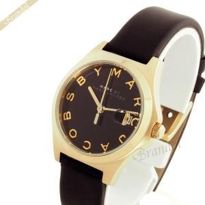 マークバイマークジェイコブス MARC BY MARC JACOBS レディース腕時計 Slim スリム 30mm ブラック×ゴールド MBM1374 [在庫品]|brandol