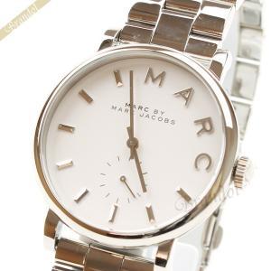 マークバイマークジェイコブス MARC BY MARC JACOBS レディース腕時計 ベイカー 36mm シルバー MBM3242 [在庫品] brandol