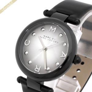 マークバイマークジェイコブス MARC BY MARC JACOBS レディース腕時計 ドッティ 34mm グレー×ブラック MJ1410 [在庫品]|brandol