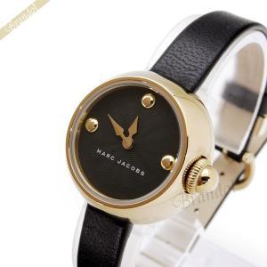 マークバイマークジェイコブス MARC BY MARC JACOBS レディース腕時計 コートニー 28mm ブラック×ゴールド MJ1432 [在庫品]|brandol