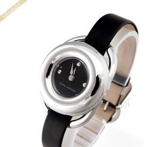 マークバイマークジェイコブス MARC BY MARC JACOBS レディース腕時計 ジェリー 28mm ブラック×シルバー MJ1445 [在庫品]|brandol