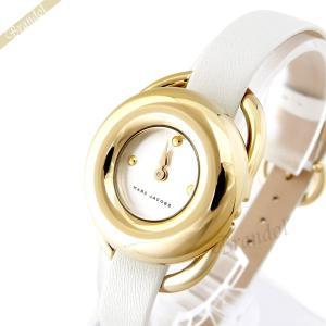 マークバイマークジェイコブス MARC BY MARC JACOBS レディース腕時計 ジェリー 28mm ホワイト×ゴールド MJ1446 [在庫品]|brandol
