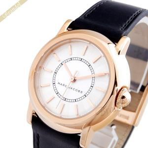 マークバイマークジェイコブス MARC BY MARC JACOBS レディース腕時計 コートニー 34mm ピンクゴールド×ブラック MJ1450 [在庫品]|brandol