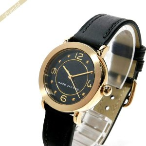 マークバイマークジェイコブス MARC BY MARC JACOBS レディース腕時計 ライリー 28mm ブラック×ゴールド MJ1475 [在庫品]|brandol