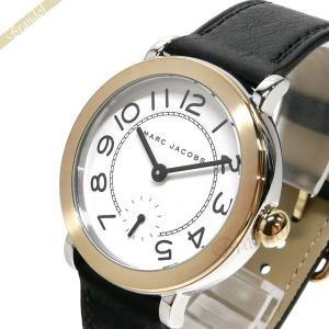 マークバイマークジェイコブス MARC BY MARC JACOBS レディース腕時計 ライリー 36mm ホワイト×ブラック MJ1514 [在庫品]|brandol