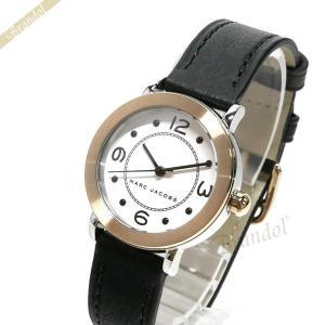 マークバイマークジェイコブス MARC BY MARC JACOBS レディース腕時計 ライリー 28mm ホワイト×ブラック MJ1516 [在庫品] brandol