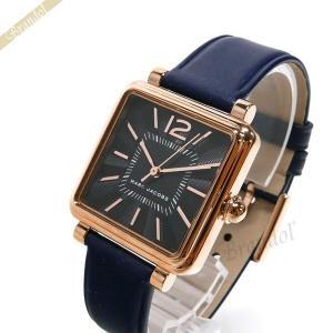 マークジェイコブス MARC JACOBS レディース腕時計 Vic 30mm ネイビー×ピンクゴールド MJ1523 [在庫品]|brandol