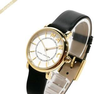 マークバイマークジェイコブス MARC BY MARC JACOBS レディース腕時計 ロキシー 28mm ホワイト×ブラック MJ1537 [在庫品]|brandol