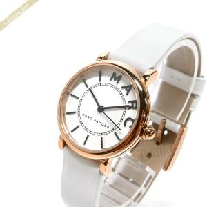 マークバイマークジェイコブス MARC BY MARC JACOBS レディース腕時計 ロキシー 28mm ホワイト×ローズゴールド MJ1562 [在庫品]|brandol