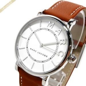 マークジェイコブス MARC JACOBS レディース腕時計 ロキシー ROXY 36mm ホワイト×ブラウン MJ1571 [在庫品]|brandol