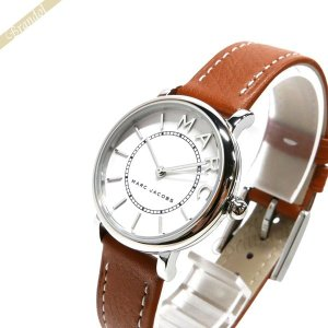 マークジェイコブス MARC JACOBS レディース腕時計 ロキシー ROXY 28mm ホワイト×ブラウン MJ1572 [在庫品]|brandol