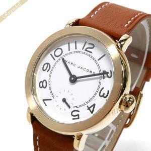 マークジェイコブス MARC JACOBS レディース腕時計 ライリー RILEY 36mm ホワイト×ブラウン MJ1574 [在庫品]|brandol