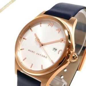 マークジェイコブス MARC JACOBS レディース腕時計 HENRY ヘンリー 36mm ホワイト×ネイビー MJ1609 [在庫品]|brandol