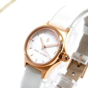 マークジェイコブス MARC JACOBS レディース腕時計 ヘンリー 20mm ホワイト×ピンクゴールド MJ1610 [在庫品]|brandol
