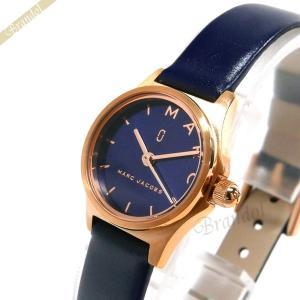 マークジェイコブス MARC JACOBS レディース腕時計 ヘンリー 20mm ネイビー×ピンクゴールド MJ1611 [在庫品]|brandol
