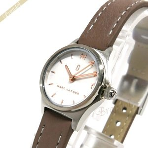 マークジェイコブス MARC JACOBS レディース腕時計 HENRY ヘンリー 20mm ホワイト×グレージュ MJ1625 [在庫品]|brandol