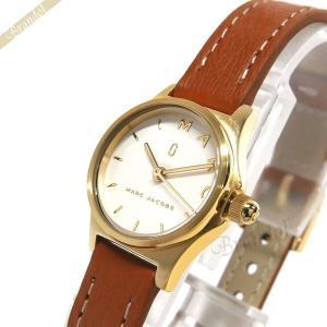 マークジェイコブス MARC JACOBS レディース腕時計 HENRY ヘンリー 20mm ホワイト×ライトブラウン MJ1626 [在庫品]|brandol
