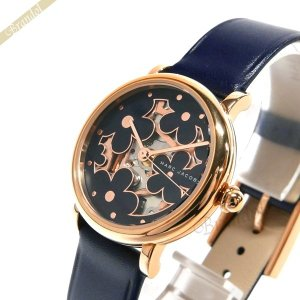 マークジェイコブス MARC JACOBS レディース腕時計 Classic クラシック フラワーモチーフ 28mm ネイビー MJ1628 [在庫品]|brandol