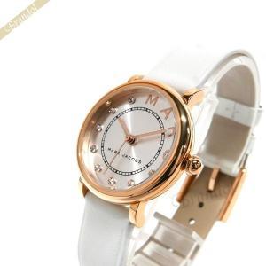 マークジェイコブス MARC JACOBS レディース腕時計 Classic クラシック 28mm シルバー×ホワイト MJ1634 [在庫品]|brandol