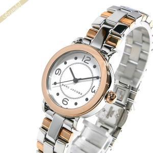 マークジェイコブス MARC JACOBS レディース 腕時計 ライリー RILEY 28mm シルバー×ピンクゴールド MJ3540 [在庫品]|brandol
