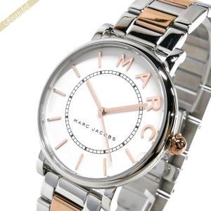 マークジェイコブス MARC JACOBS レディース レディース腕時計 ロキシー 36mm ホワイト×シルバー×ピンクゴールド MJ3551 [在庫品]|brandol