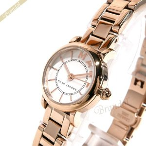 マークジェイコブス MARC JACOBS レディース レディース腕時計 クラシック CLASSIC 20mm ホワイト×ピンクゴールド MJ3565 [在庫品]