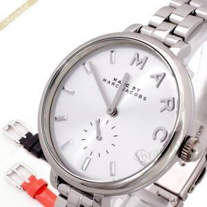 マークバイマークジェイコブス MARC BY MARC JACOBS レディース腕時計 サリー 替えベルト2本付 36mm シルバー MJ9722 [在庫品]|brandol